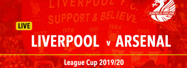 Liverpool v Arsenal LIVE