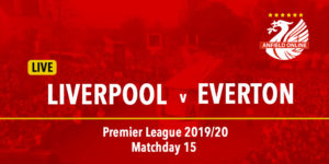 LIVE Liverpool v Everton