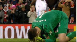 Fabianski beaten by Mo Salah in 3-2 win for Liverpool