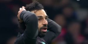 Struggles for Salah against Atletico