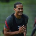 Virgil van Dijk pre-season training in Austria