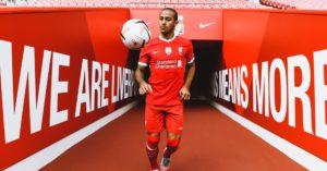 Thiago Alcantara joins Liverpool