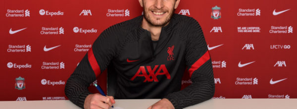 Ben Davies signs for LFC