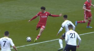 Trent scores winning goal against Aston Villa