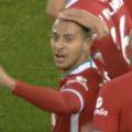 Thiago scores first LFC goal