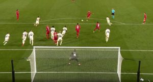 Jordan Henderson scores the winner against AC Milan
